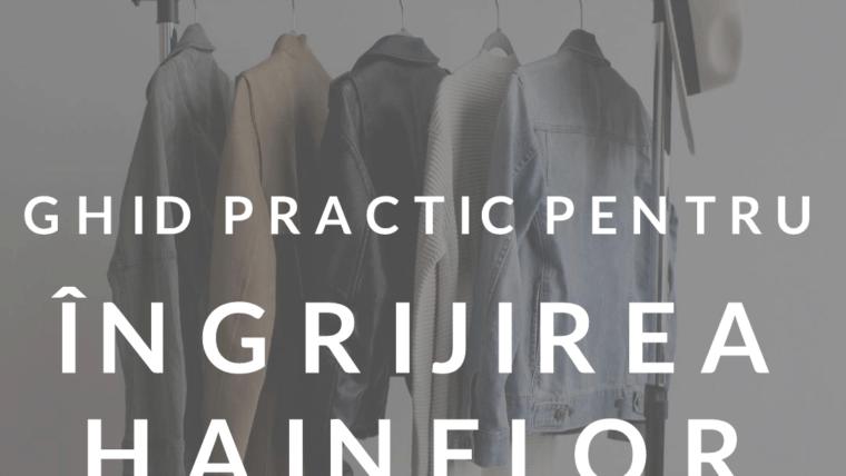 Ghid Practic pentru Ingrijirea Hainelor si a Altor Textile textile ingrijire haine ghid